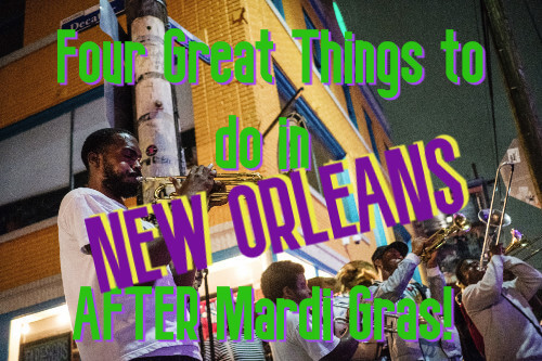 Things to do in New Orleans after Mardi Gras - man playing trumpet
